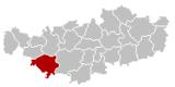 Nivelles Brabant-Wallon Belgium Map.png