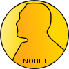 Nobel prize medal.svg