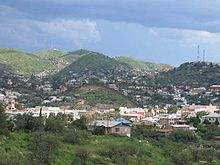 Vue générale de la ville de Nogales
