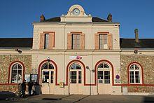 La gare de Nogent-le-Rotrou.