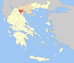Carte du Nome d'Émathie