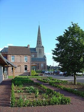 Église de Noordpeene (mai 2007)