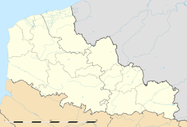 Montreuil is located in Nord-Pas-de-Calais