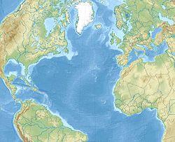 (Voir situation sur carte: océan Atlantique)