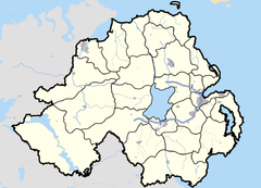 Loughgall is located in Northern Ireland