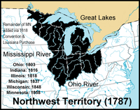 Location of Northwest Territory
