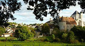Village et abbaye de Nouaillé-Maupertuis