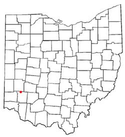 Location of Springboro, Ohio