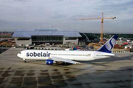 OO-SLS van Sobelair op Brussels Airport in 2001