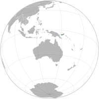 Narrower Geographic Oceania.