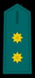 Divisa de teniente coronel