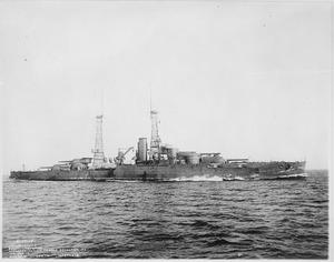 The USS Oklahoma