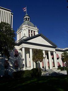 Photo du Capitole de Floride, à Tallahassee.