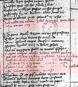 Oldest Surviving Albanian Text
