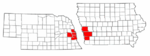 Map of Omaha-Council Bluffs metro area