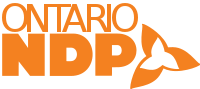 Ontario NDP English Logo.svg