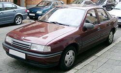 198819922 Opel Vectra A sedan.