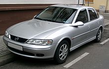 19952002 Opel Vectra sedan (Germany)