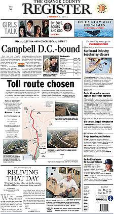 Orange County Register, Dec. 7, 2005.jpg
