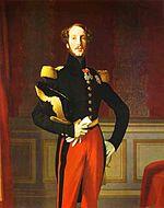 Portrait du duc d'Orléans, par Dominique Ingres, 1842
