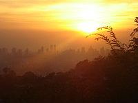 Ortigas Skyline sunset.jpg