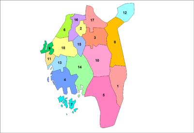 Municipalities of Østfold