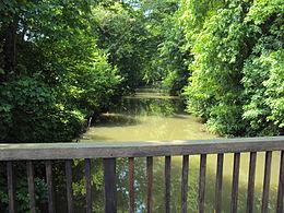 L'Ourcq à Lizy-sur-Ourcq