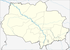 Kolpashevo is located in Tomsk Oblast