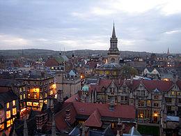 Centro de la ciudad de Oxford
