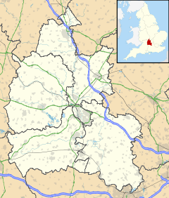 North Hinksey is located in Oxfordshire