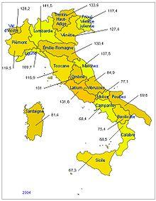 Représentation géographique du produit intérieur brut par habitant.