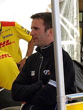 Romain Dumas au Petit Le Mans en 2008