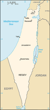 Historic region of Palestine