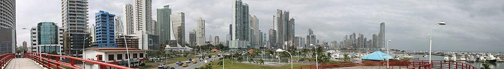 Vista de Punta Paitilla desde la Cinta Costera (2012).