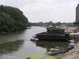 Le Timiș à Pančevo