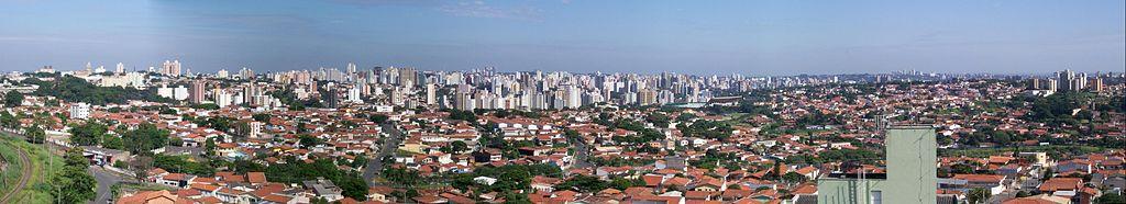 Campinas city view