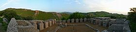 Panorama at Jaulian - Ancient Buddhist Monastery - Taxila, Pakistan - 566-31.JPG
