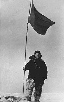 Ivan Papanin at North Pole-1