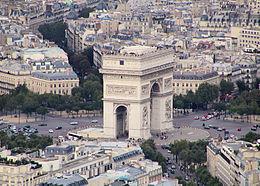 Place de l'Étoile, l'Arc de triomphe