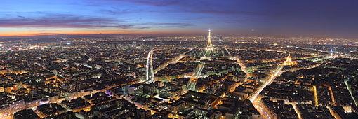 Panorámica de París desde lo alto de la Torre Montparnasse.