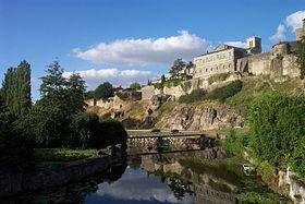 Le château de Parthenay
