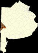 Localización de Canónigo Gorriti