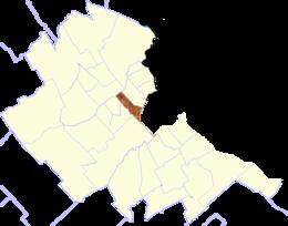 Localización de Once de Septiembre
