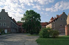Vue de l'ancien château teutonique
