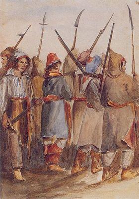 Patriotes à Beauharnois en novembre 1838 .jpg