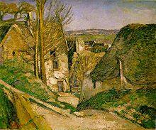Oeuvre la maison du pendu paul cézanne