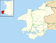 Milford Haven is located in Pembrokeshire