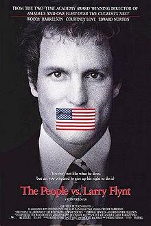 Man gagged by the American flag