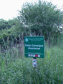 Petite Camargue Alsacienne, Panneau.jpg