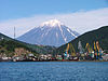 Koryaksky Volcano above Petropavlovsk-Kamchatsky